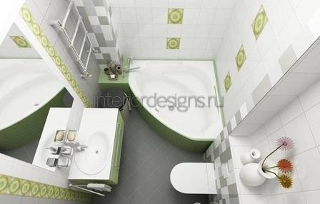 создание проекта ванной и туалета
