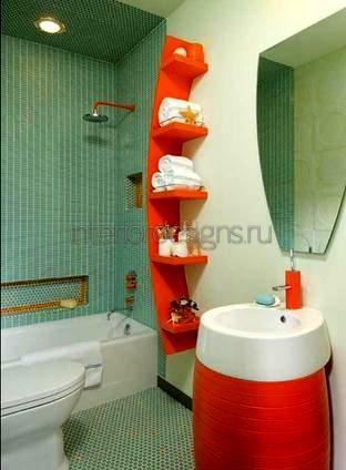 дизайн ванной (туалета)