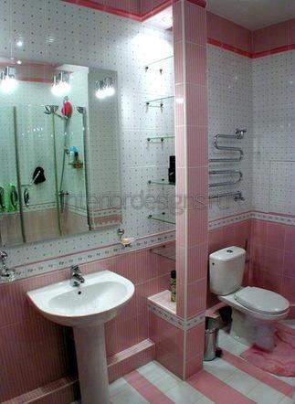 дизайн совмещенных ванных