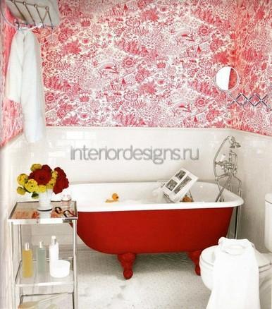оформление ванной в квартире