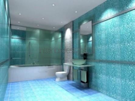 создание интерьера ванной комнаты в квартире