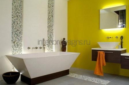 отделка интерьера ванной в квартире