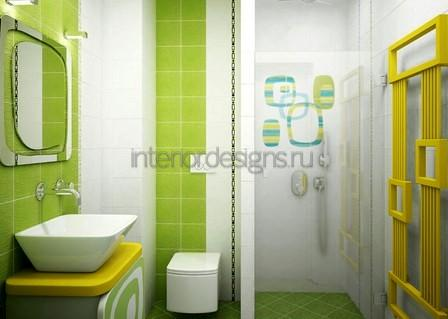 дизайн ванной комнаты – фото