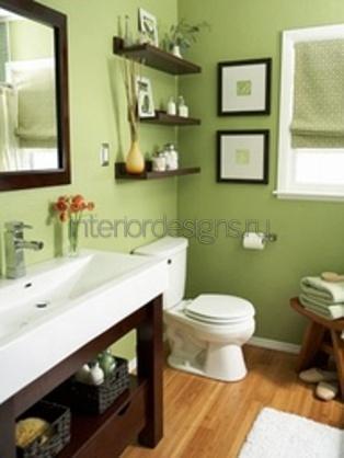 оформление дизайна ванной