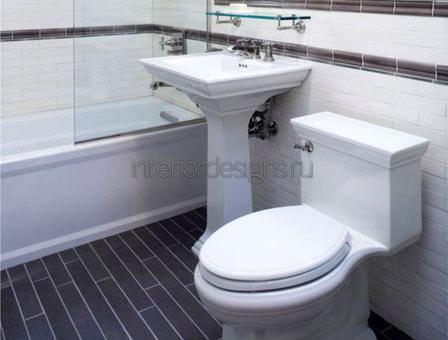 оформление дизайна ванной комнаты 170х170