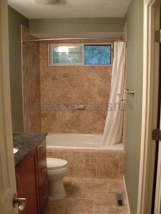 обустройство ванной комнаты 170х170