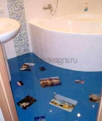 дизайн ванных комнаты с размерами 170х170