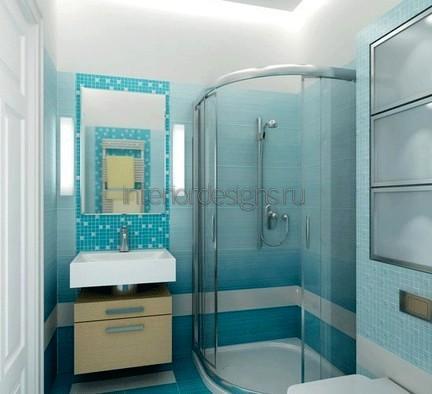 ванная 150х135