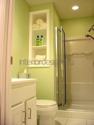 оформление дизайна ванной 150х135