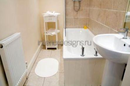 дизайн-проект ванной 150х135