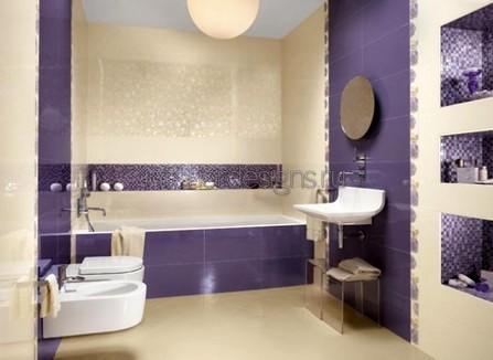 дизайн ванной комнаты – мозаика