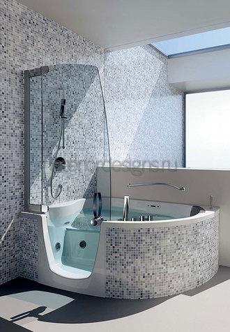 облицовка ванной мозаикой