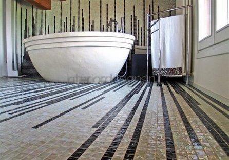 проект-дизайн ванной с мозаикой