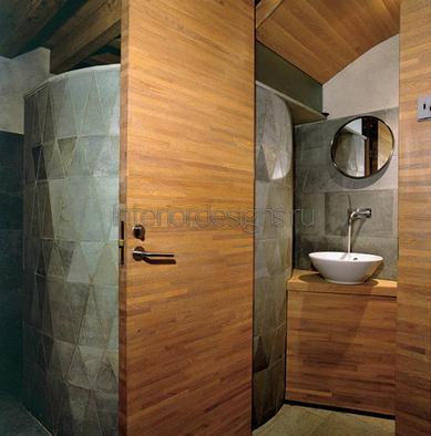 оформление дизайна красивой ванной