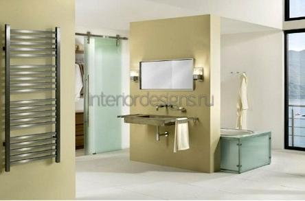 оформление красивого дизайна ванной