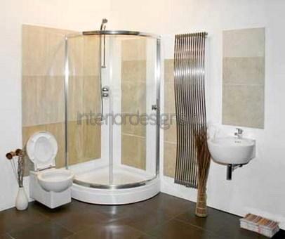 проект-дизайн простой ванной комнаты