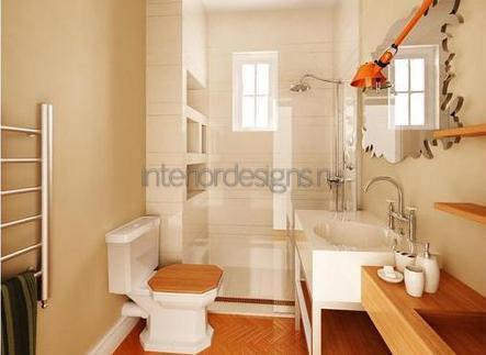 проект-дизайн простой ванной