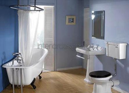 проектирование простого дизайна ванной комнаты