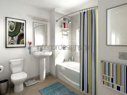 проектирование простого дизайна ванной