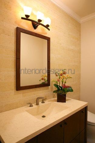 создание простого дизайна ванной комнаты