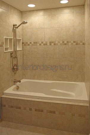 планирование простого дизайна ванной комнаты
