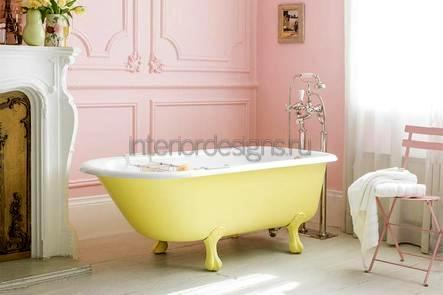 варианты и примеры оформления ванных