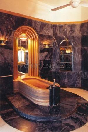 варианты и примеры обустройства ванных