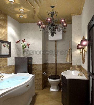 варианты оформления красивых ванных комнат