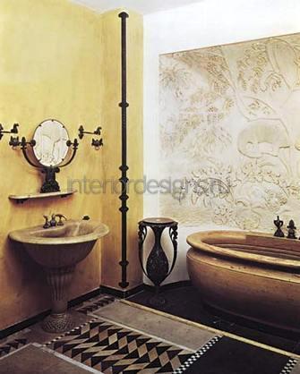 варианты оформления красивых ванных