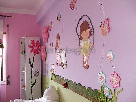 декор стен в доме