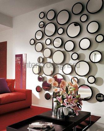 красивый декор стен