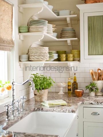 маленькая кухня – дизайн