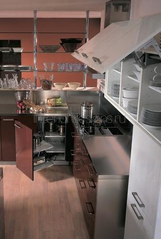 дизайн-проект кухни маленькой площади