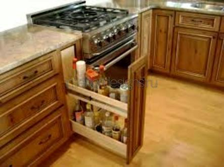 проектирование дизайна маленькой кухни