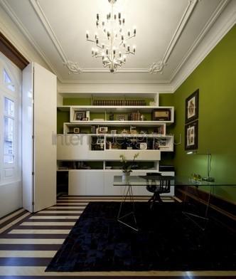 оформление дизайна кабинета в квартире