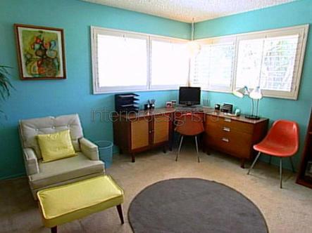 создание дизайна кабинета в квартире