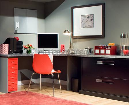 кабинет в квартире – дизайн