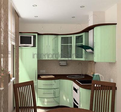 дизайн кухонь в хрущевке