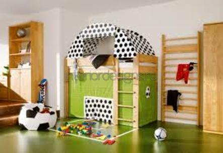 оформление дизайна детской комнаты мальчика
