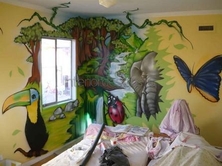 обустройство детской комнаты мальчика