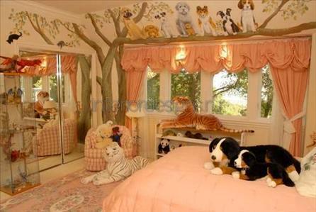 дизайн-проект детской комнаты для мальчика