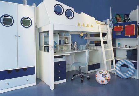 разработка дизайна детской для мальчика