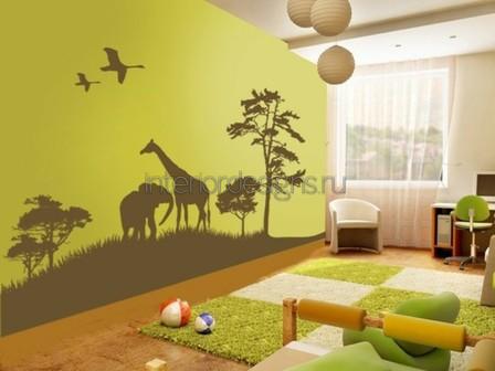 создание дизайна детской комнаты для мальчика