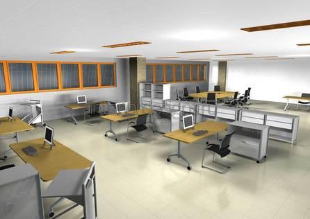 проектирование дизайна офиса
