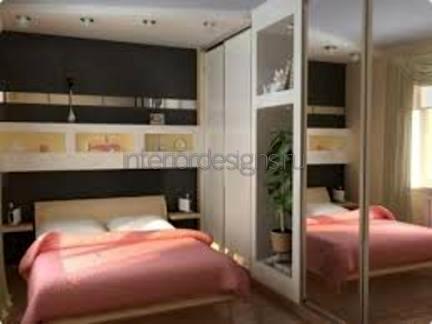 проект узкой спальни