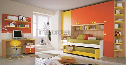 мебельные гарнитуры для двоих детей