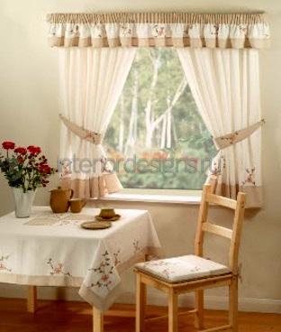 шторы для столовой комнаты