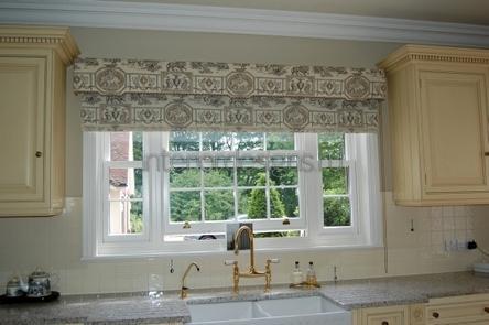 оригинальный дизайн штор для кухни