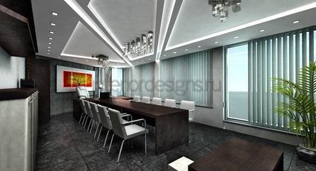 меблирование зала для переговоров