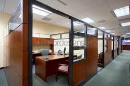 зонирование офисными перегородками